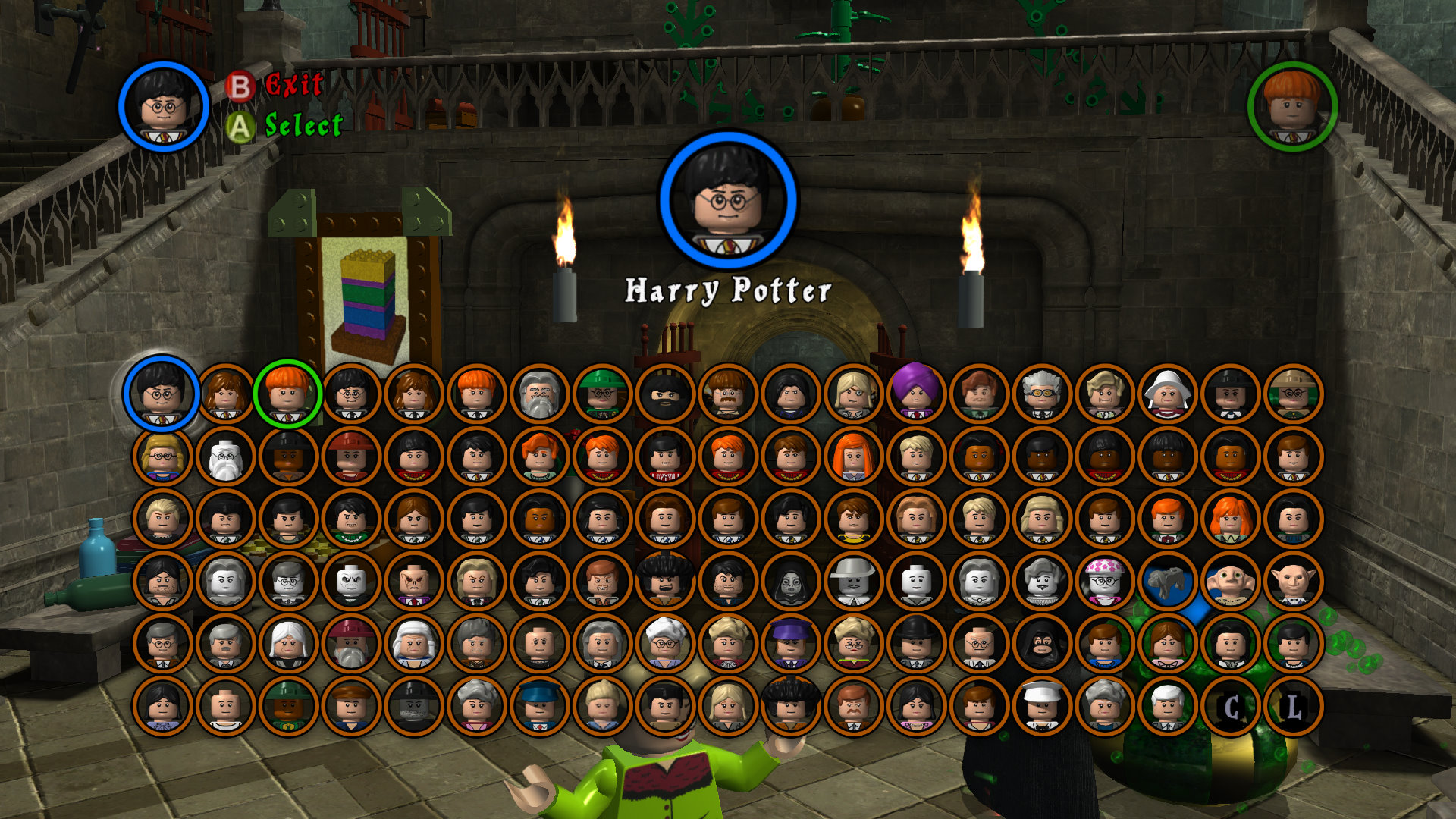 Lego Harry Potter Characters The GAMES Blog
