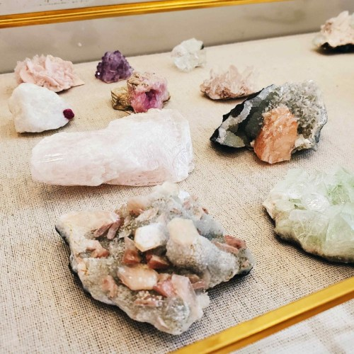 Ethically sourced crystals from District Mineral in Washington DC