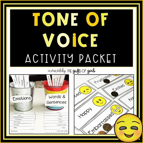 Tone of Voice Activity Packet
