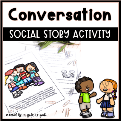 Conversation Social Story