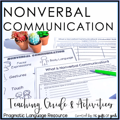 Nonverbal Communication Teaching Guide and Activities