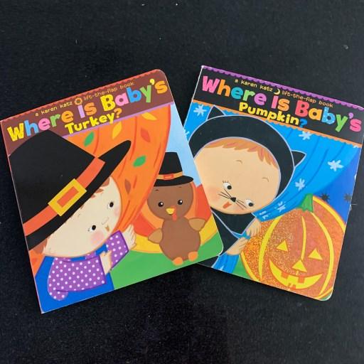 Preschool fall themed speech therapy books