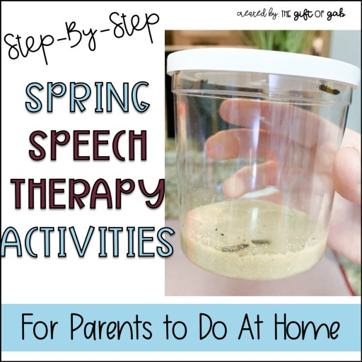 Spring Speech Therapy Activities At Home