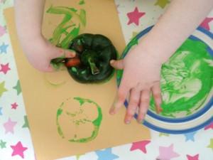vegetable printing