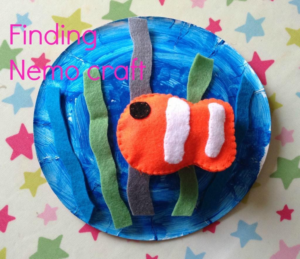 Finding Nemo felt craft for kids