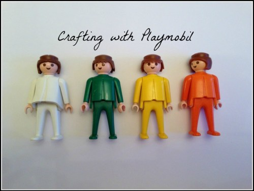 crafting with Playmobil
