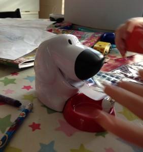Scotch Magic Tape Dispenser Dog