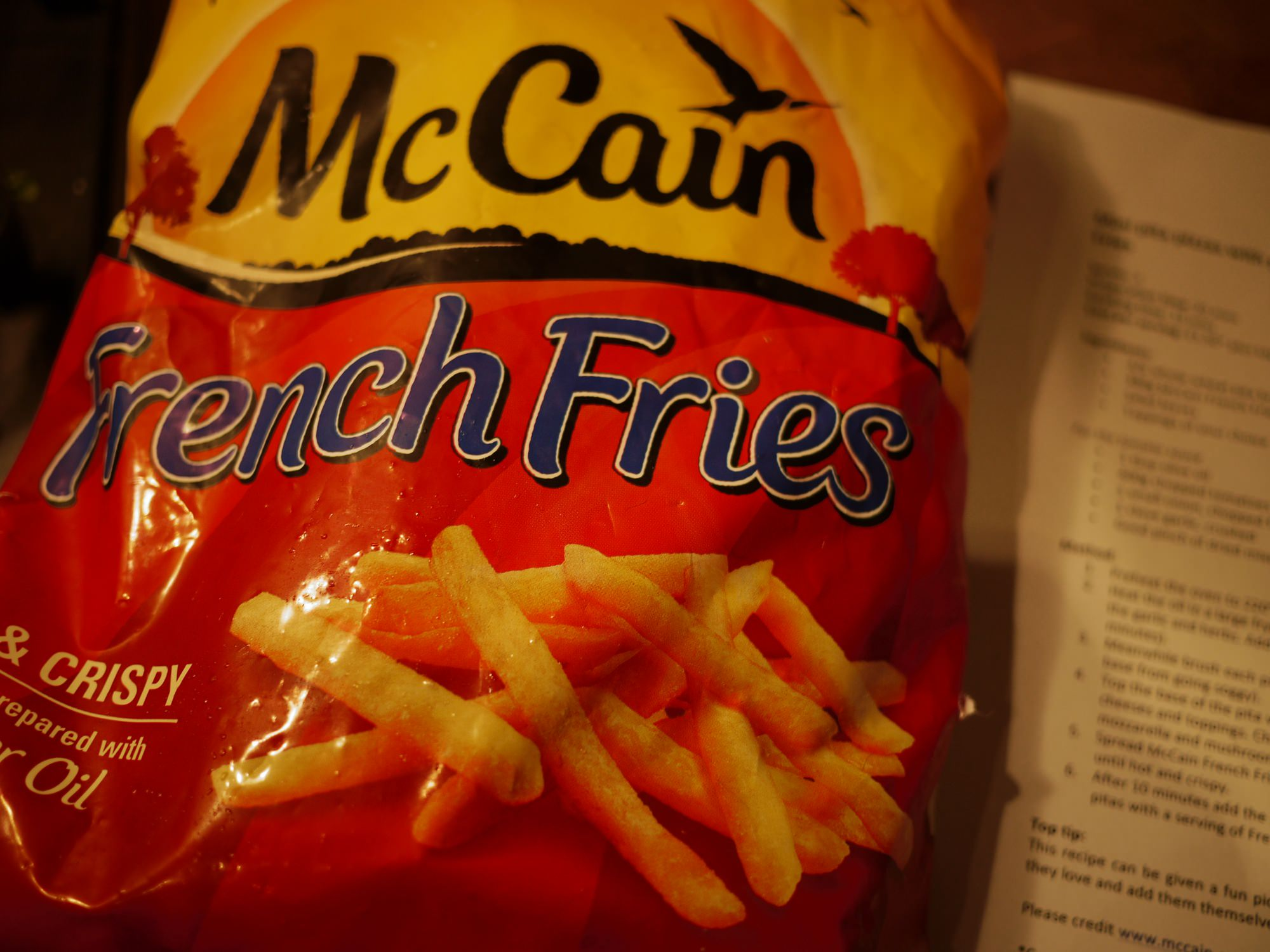 how to make mccain french fries in microwave