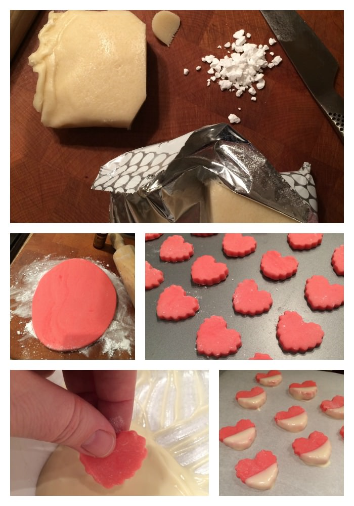 easy marzipan hearts