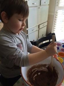 baking gruffalo cakes