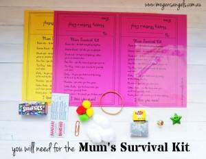 Imogen's Angels Mum Survival Kit
