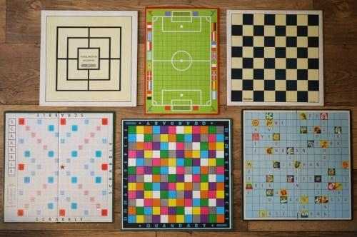 vintage game boards