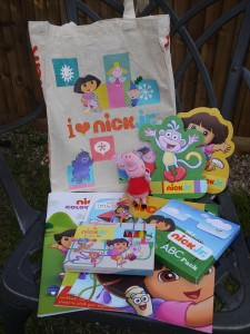 Nick Jr goody bag