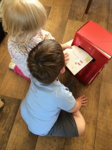 crafting a postbox