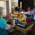 easy lego table - the gingerbread house
