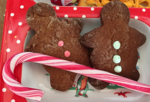 gingerbread men bento