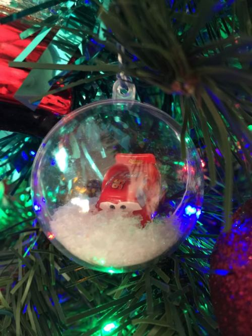 Lightning McQueen bauble