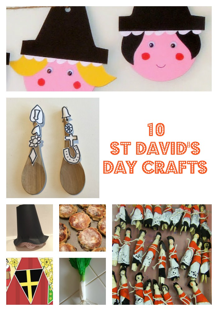 10 St David's Day crafts