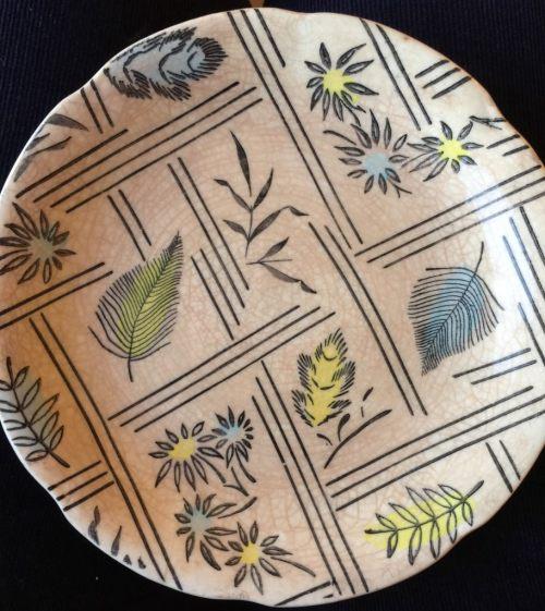 """Broadhurst Kathie Winkle """"Tyne"""" plate"""