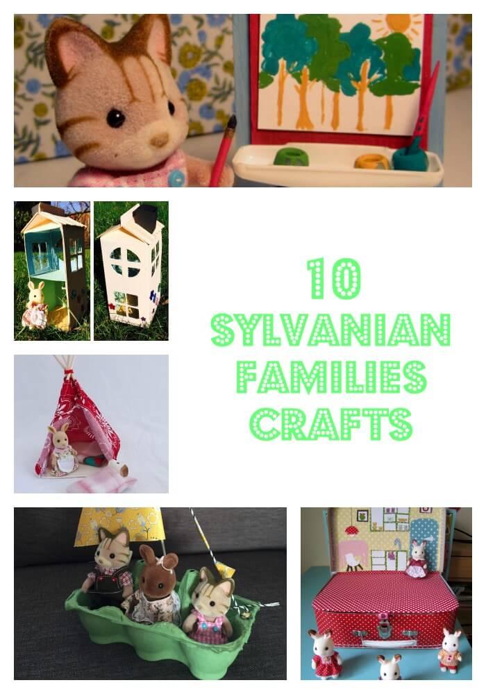 10 Sylvanian Families crafts