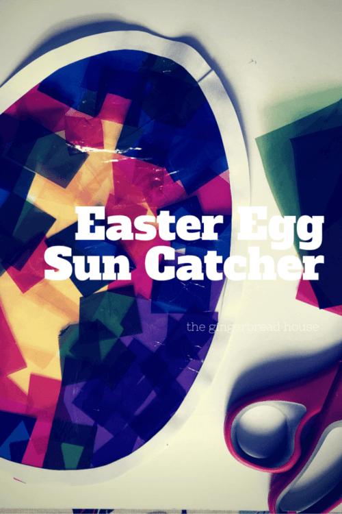Easter Egg Sun Catcher tutorial