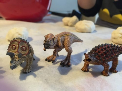 Schliech mini dinosaurs