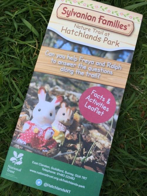 Sylvanian Families Nature Trail leaflet