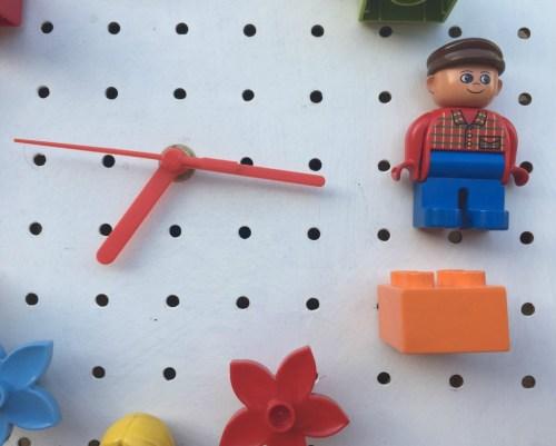 how to make a lego clock