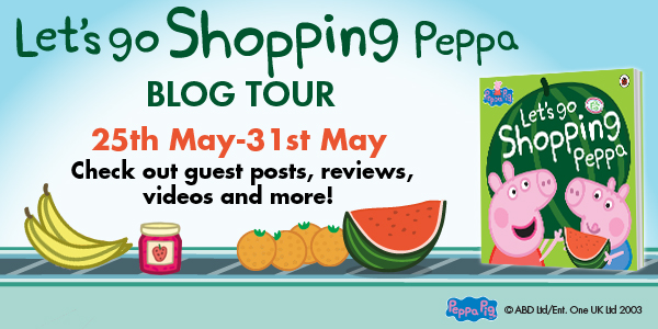 Peppa Pig blog tour banner