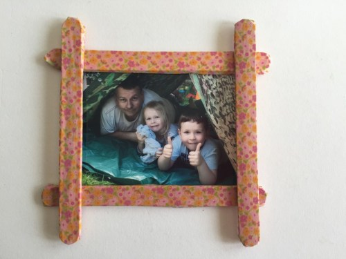 craft stick frames for kids