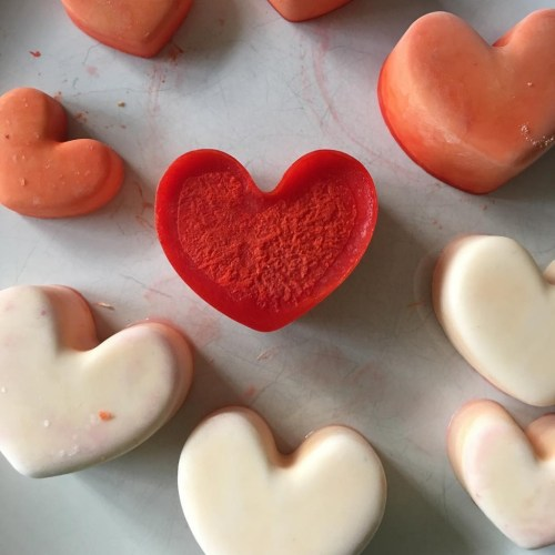 simple melting love hearts