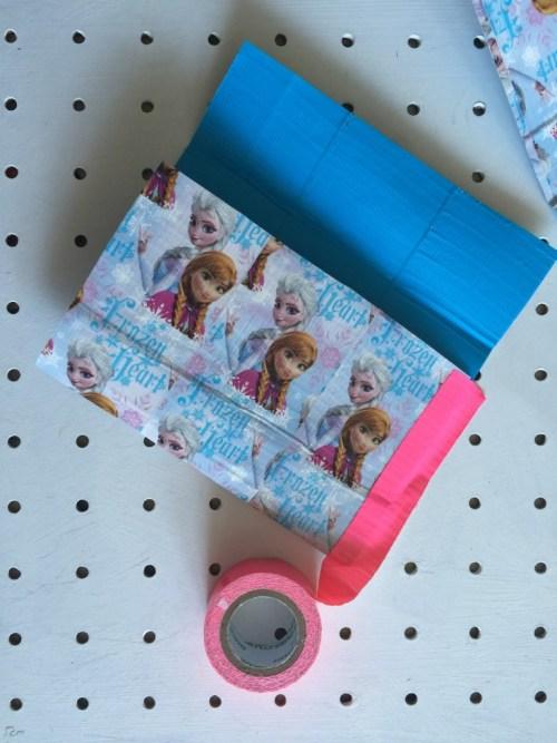 Duck Tape pocket money wallet
