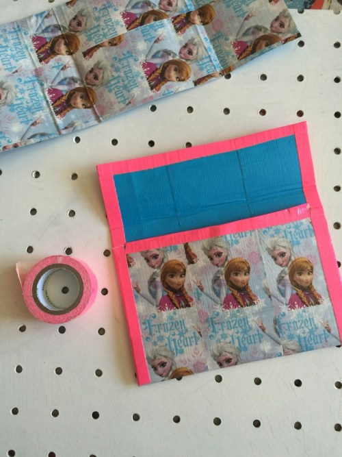 FRozen Duck Tape wallet