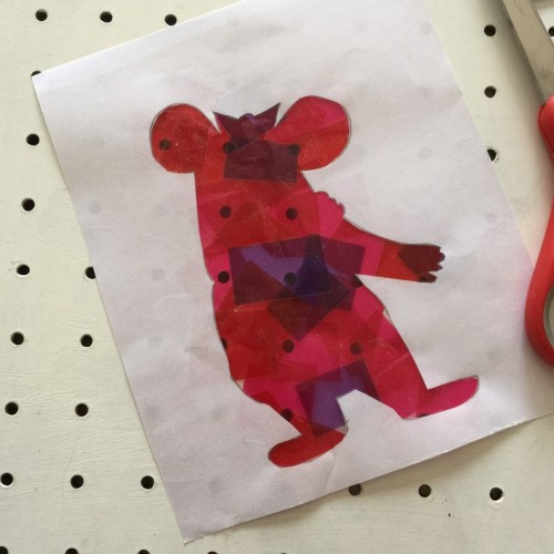 Tiny Clanger kids craft