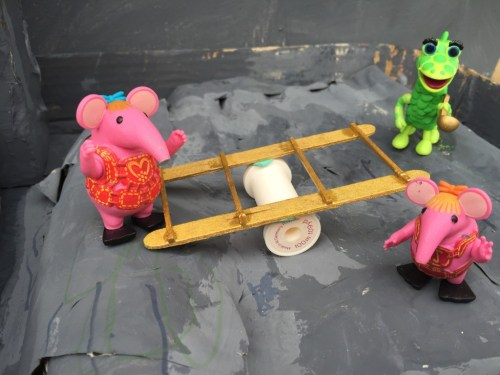 Tiny Clanger seesaw
