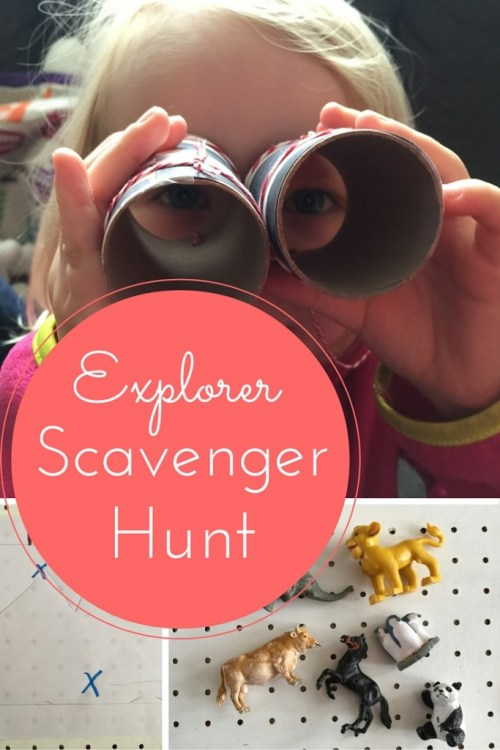 Explorer Scavenger Hunt
