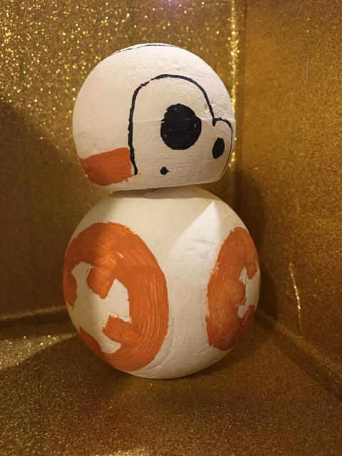 BB-8 Star Wars kids craft