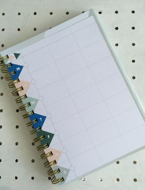 blank page in The Life Planner