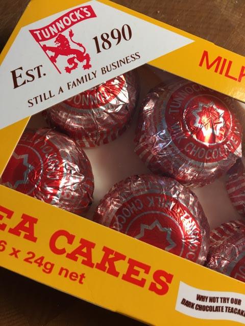 Tunnocks Teacake Cupcakes