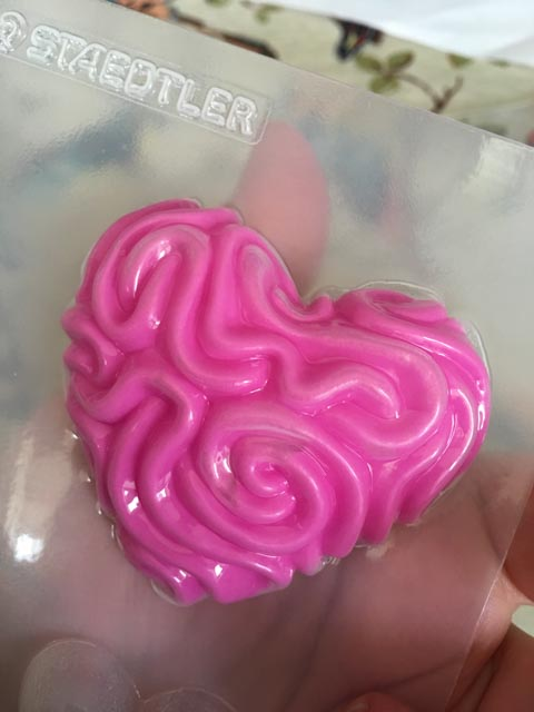 Heart Clay Mould