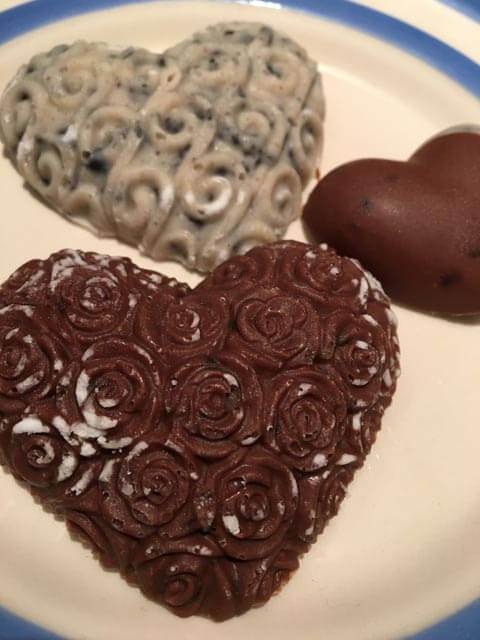 chocolate heart mould