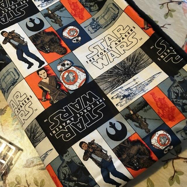 Star Wars The Force Awakens blanket