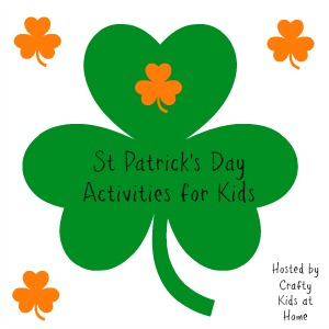 st patricks day activities for kids badge