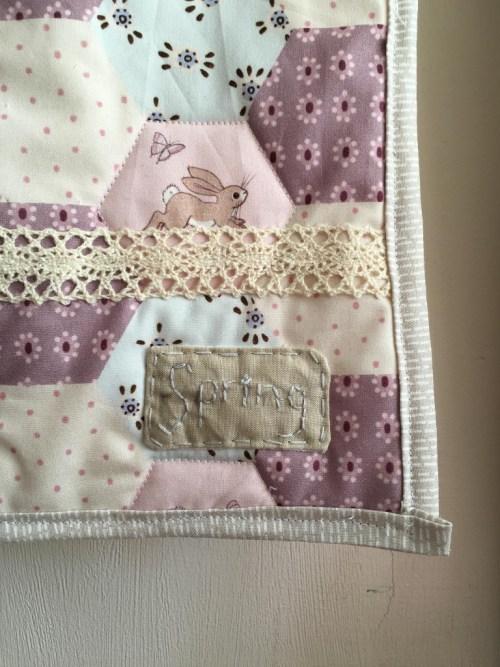 Amy Sinibaldi style linen patch