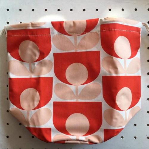 orla Kiely limited edition drawstring bag