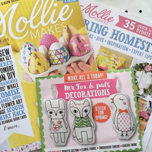 Issue 64 of Mollie Makes magazine