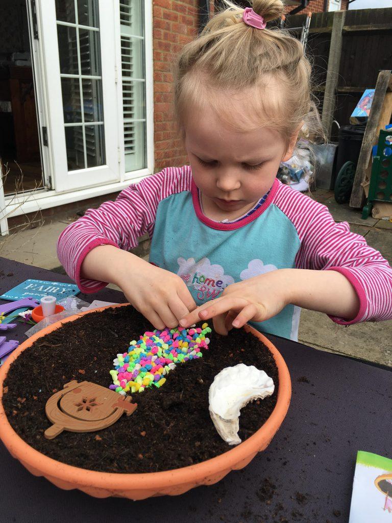 grow a fairy garden kit