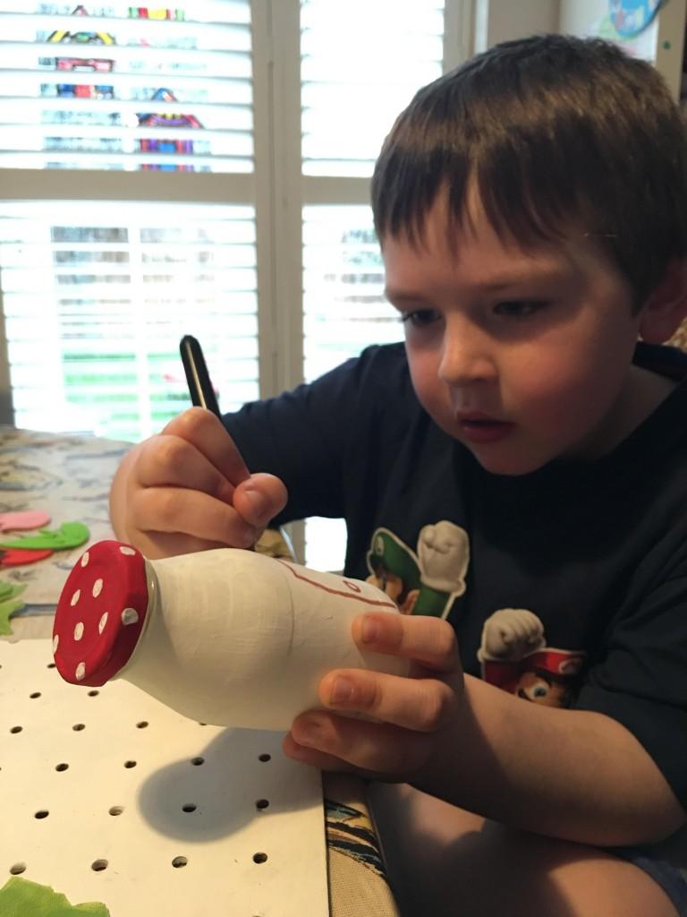 creating a fairy house