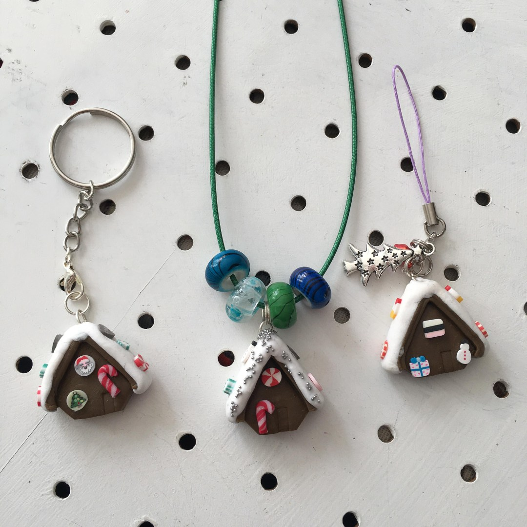 letterbox kits gingerbread house kit necklace
