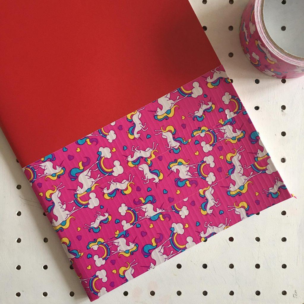 Duck Tape notebook